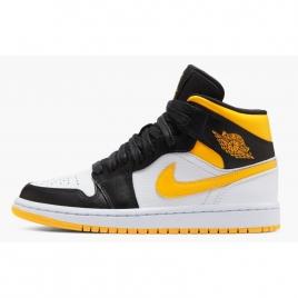 Nike Air Jordan 1 Mid Jaune