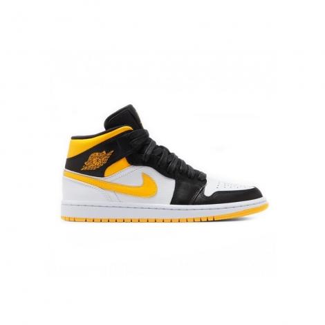 Nike Air Jordan 1 Mid Jaune - mypapuc