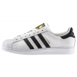 Femmes Adidas Originals  Superstar  Baskets  Noir et blanc