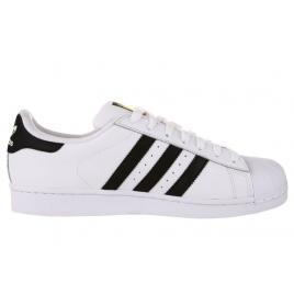 Hommes Adidas Originals  Superstar  Baskets  Noir et blanc
