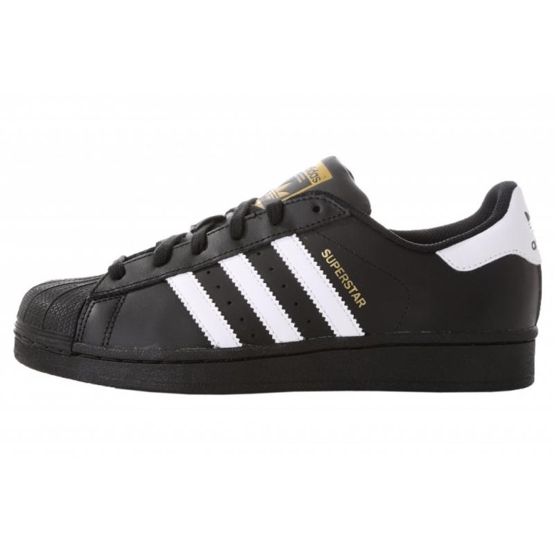 Femmes Adidas Originals Superstar Baskets blanc noir - mypapuc