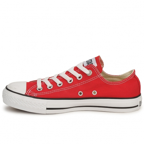 Women Converse Low Top Red