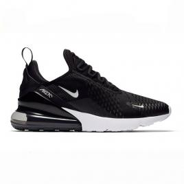 Femmes Nike Air Max 270 Noir blanc